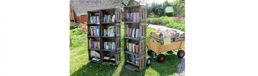 Bibliothèque extérieur campagne